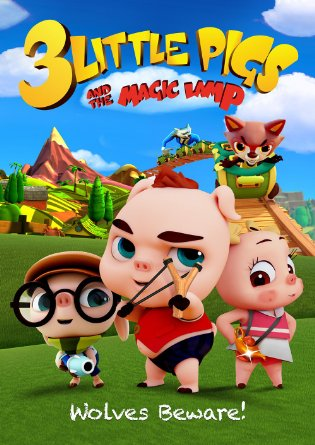 Watch Movie 3 Little Pigs and the Magic Lamp