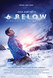 Watch Movie 6 Below: Miracle on the Mountain