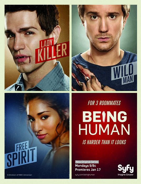 Watch Movie Being Human Us - Season 1