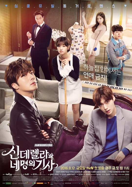 Watch Movie Cinderella and Four Knights