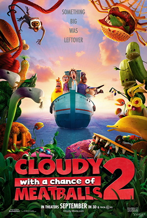 Watch Movie Cloudy With A Chance Of Meatballs 2