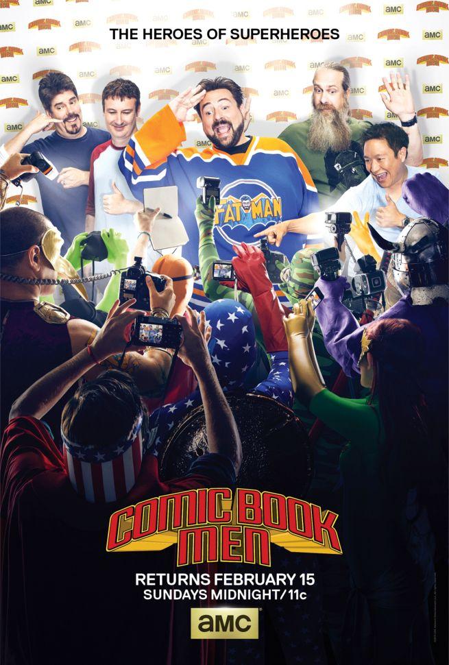 Watch Movie Comic Book Men - Season 4