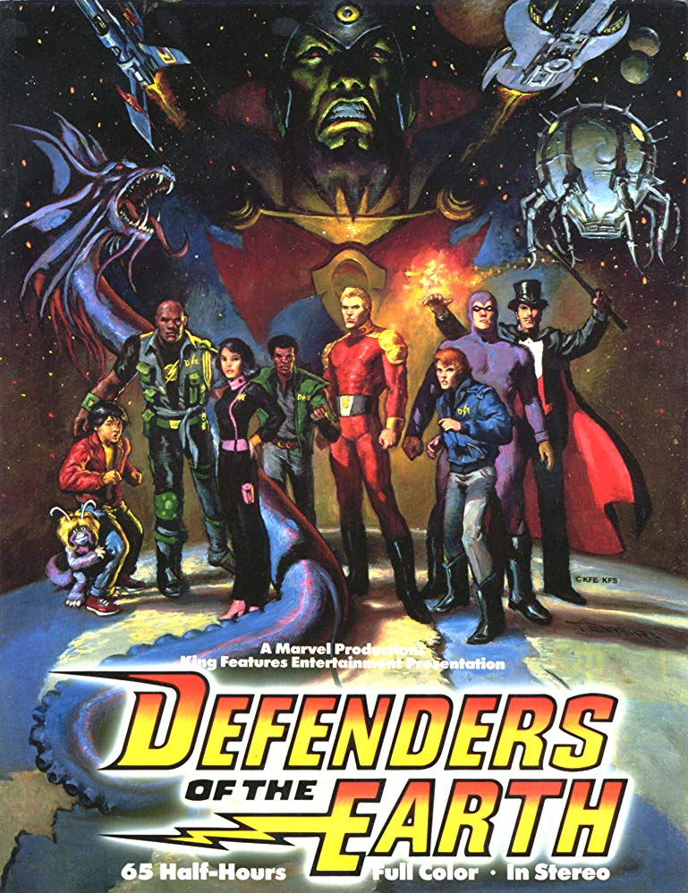 Watch Movie Defenders of the Earth - Season 1