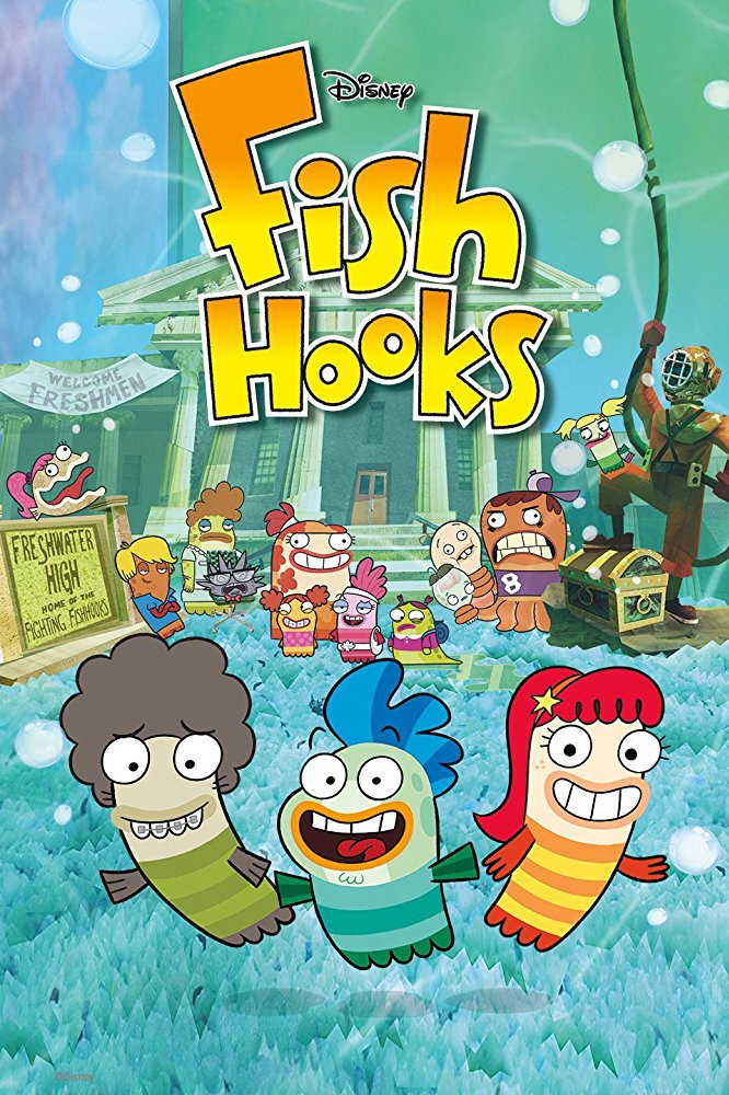 Watch Movie Fish Hooks - Season 3