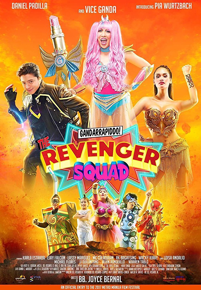 Watch Movie Gandarrappido!: The Revenger Squad