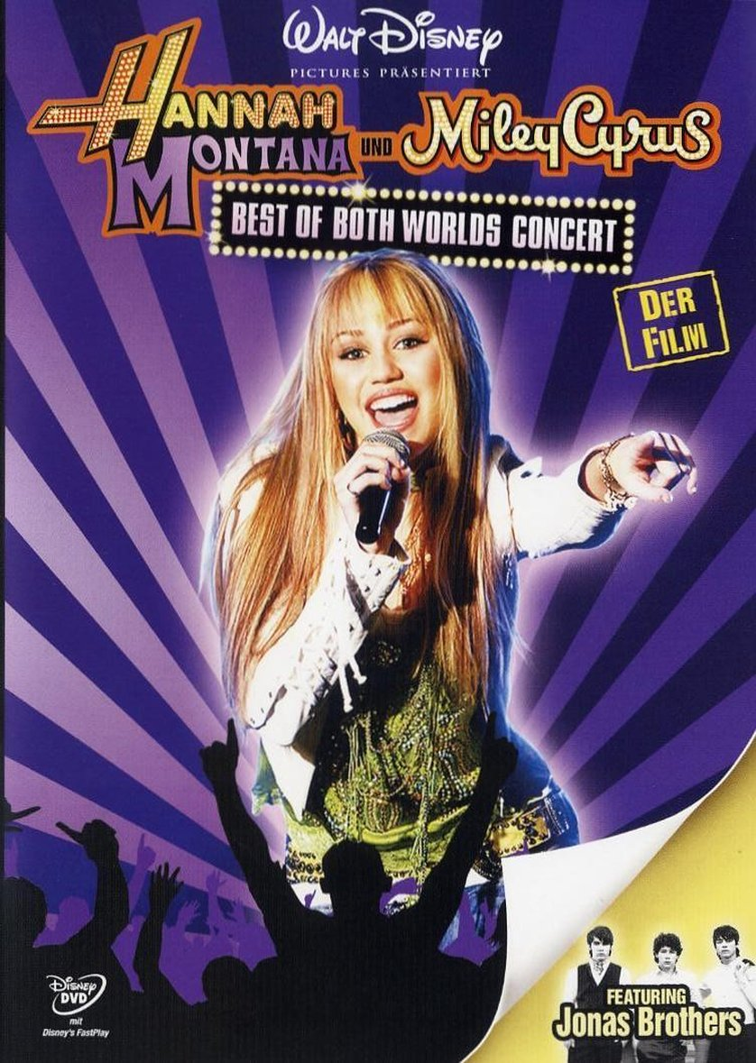 Watch Movie Hannah Montana and Miley Cyrus: Best of Both Worlds Concert 2008