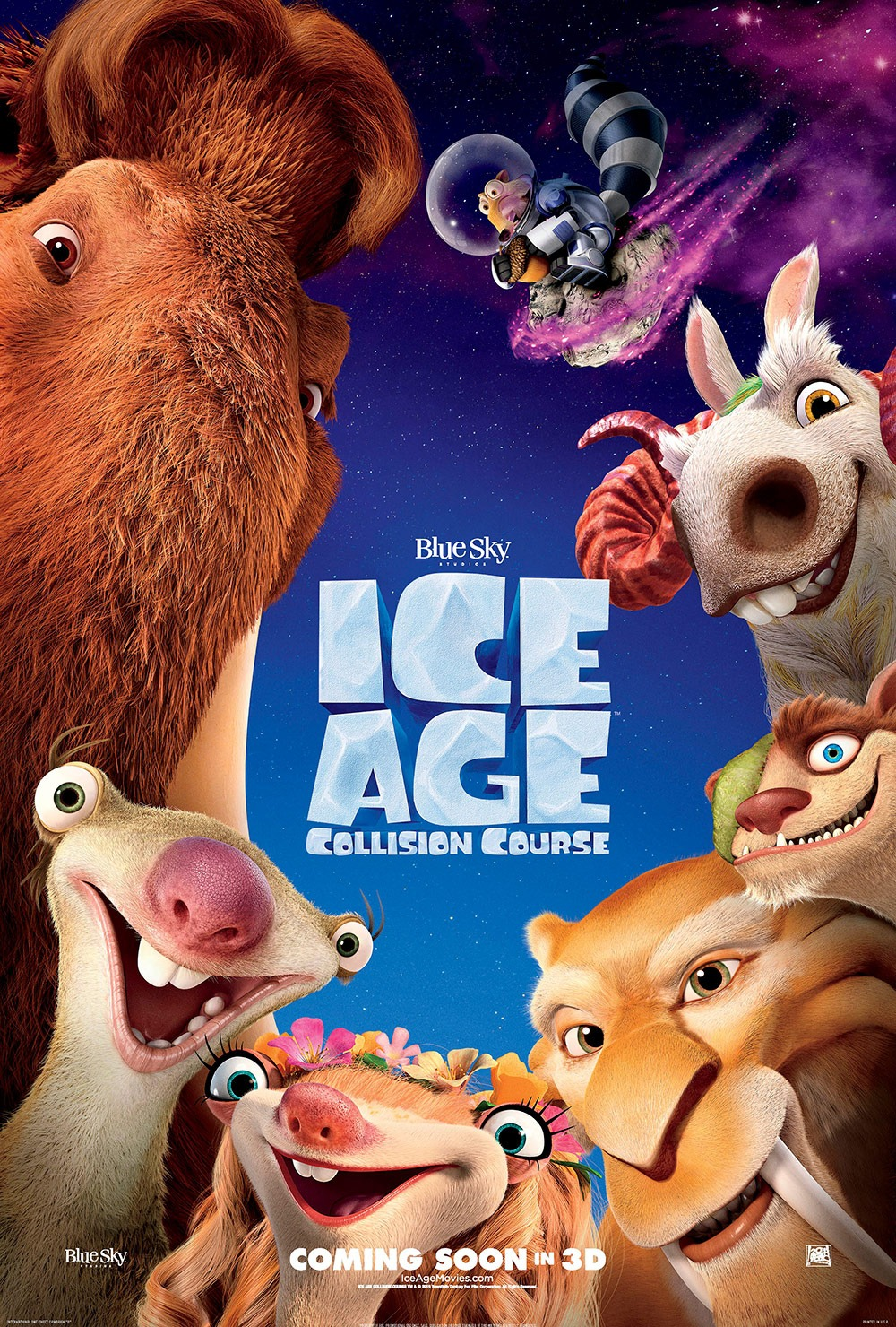 Watch Movie Ice Age: Collision Course