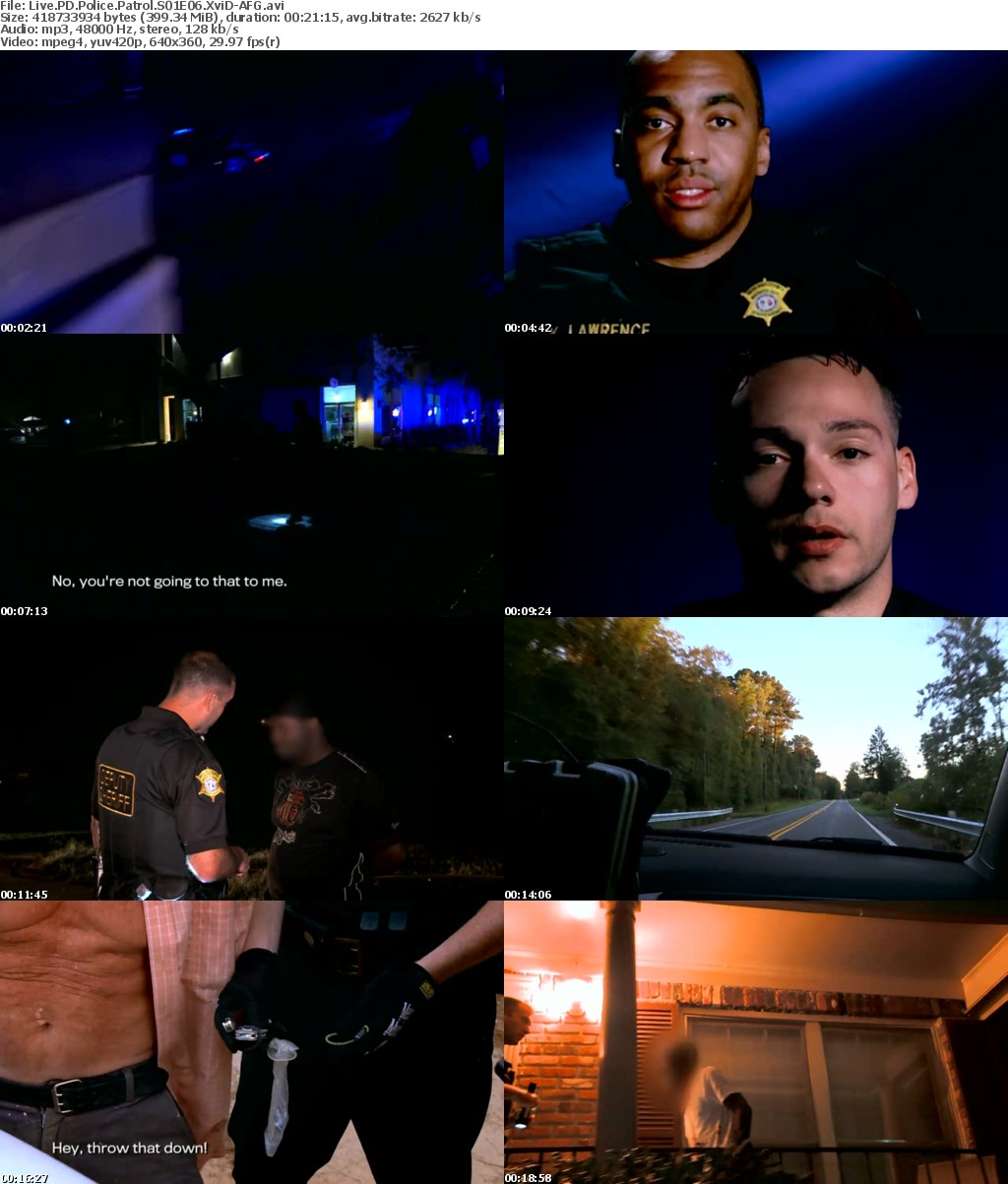 Watch Movie Live PD: Police Patrol - Season 1