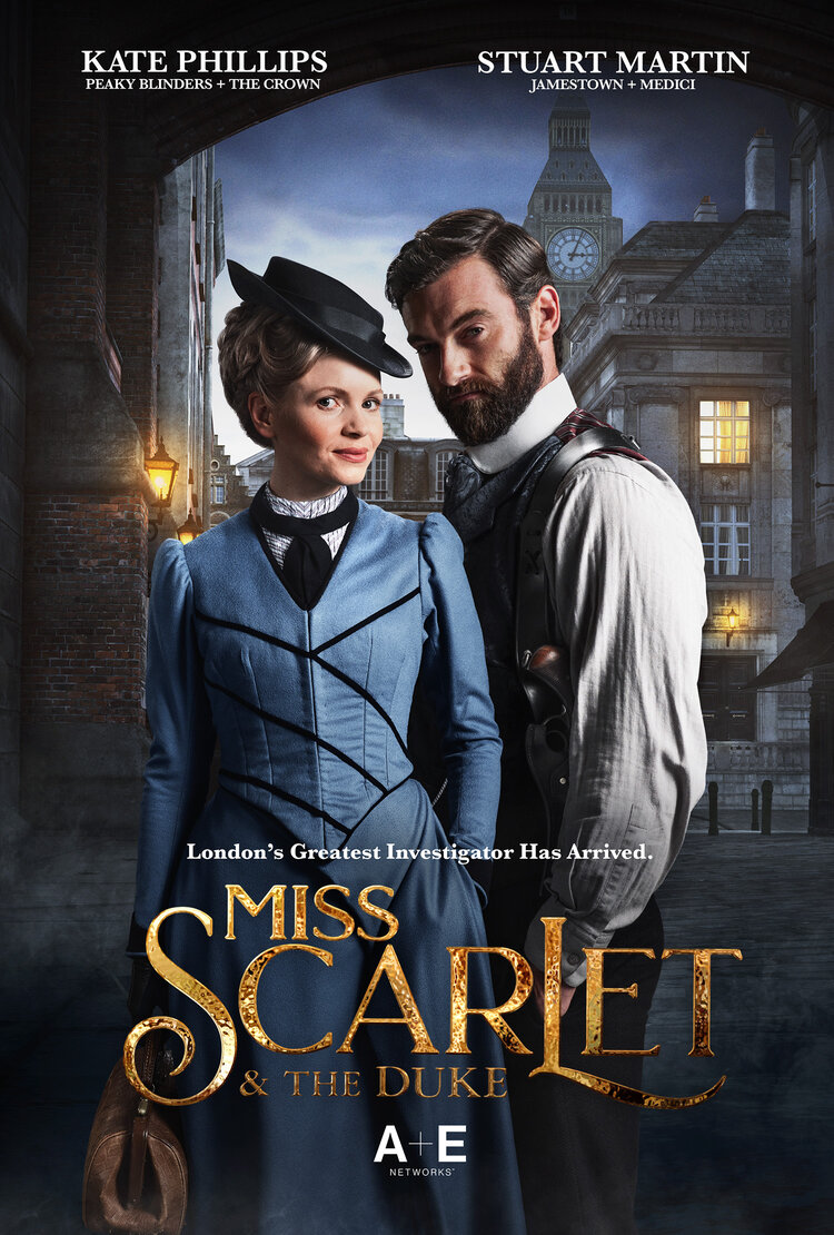 Watch Movie Miss Scarlet and the Duke - Season 1