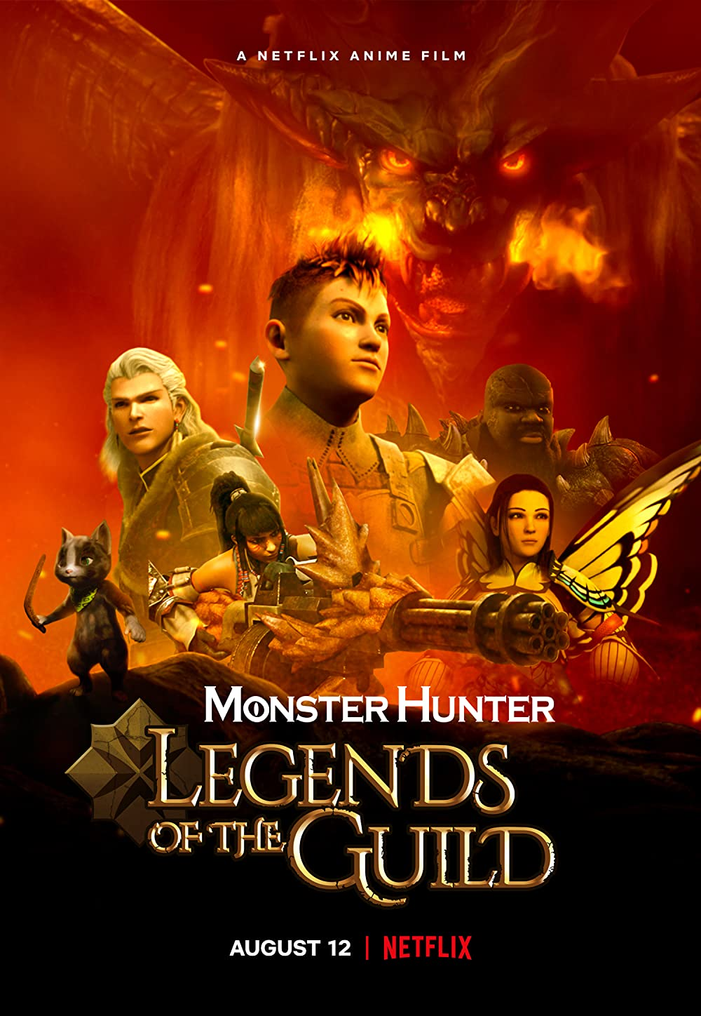 Watch Movie Monster Hunter: Legends of the Guild