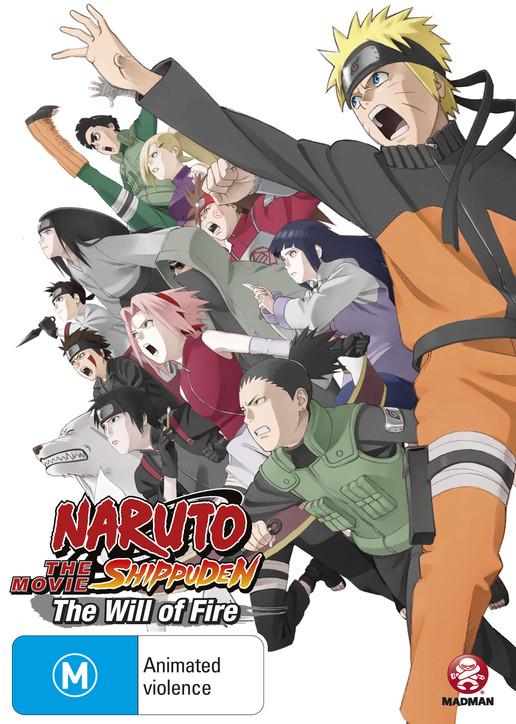 Watch Movie Naruto Shippuuden Movie 3: The Will of Fire