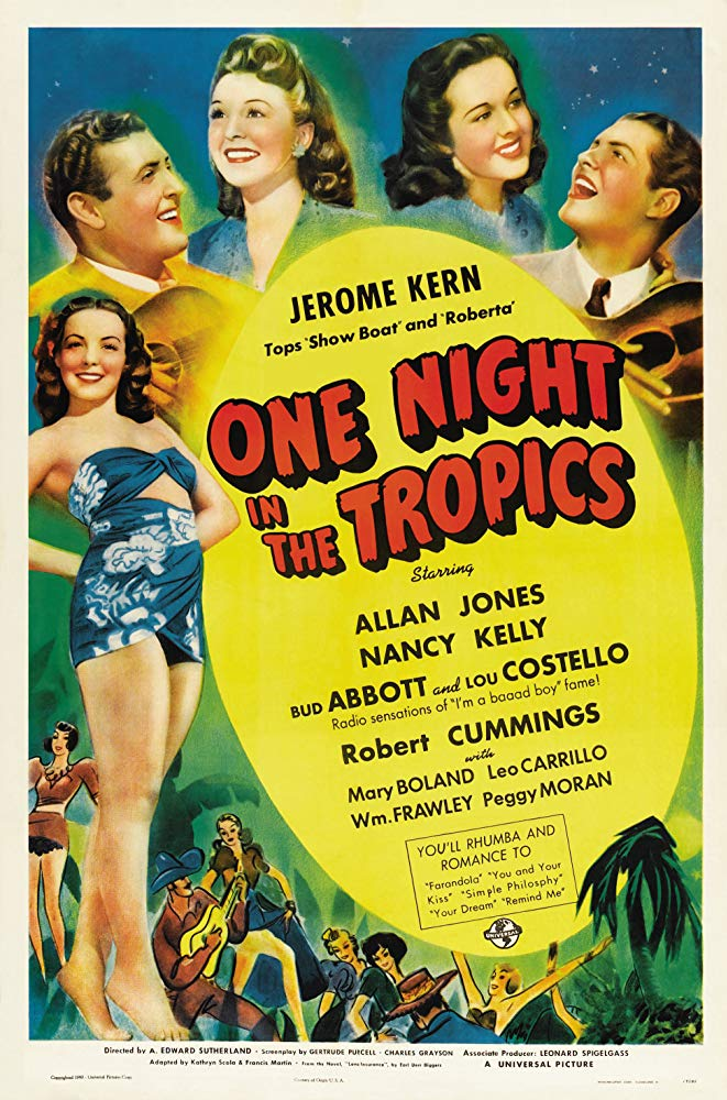 Watch Movie One Night in the Tropics
