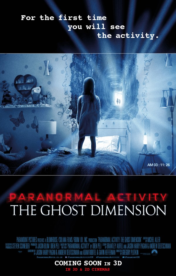 Watch Movie Paranormal Activity: The Ghost Dimension