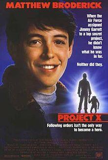 Watch Movie Project X (1987)