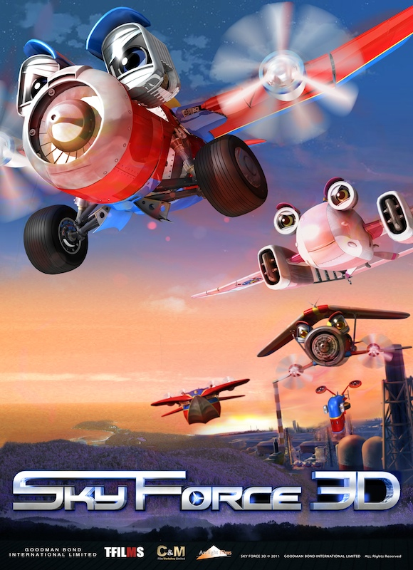 Watch Movie Sky Force 3D