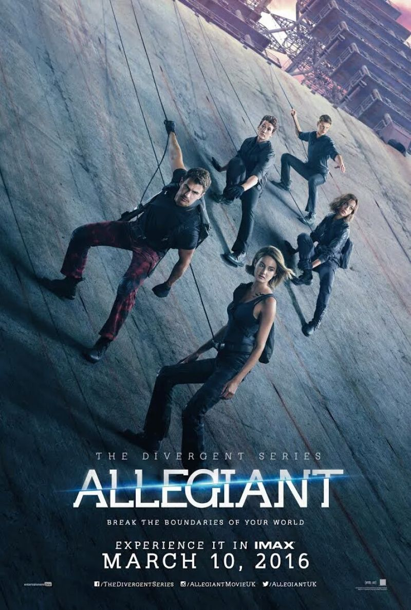 Watch Movie The Divergent Series: Allegiant