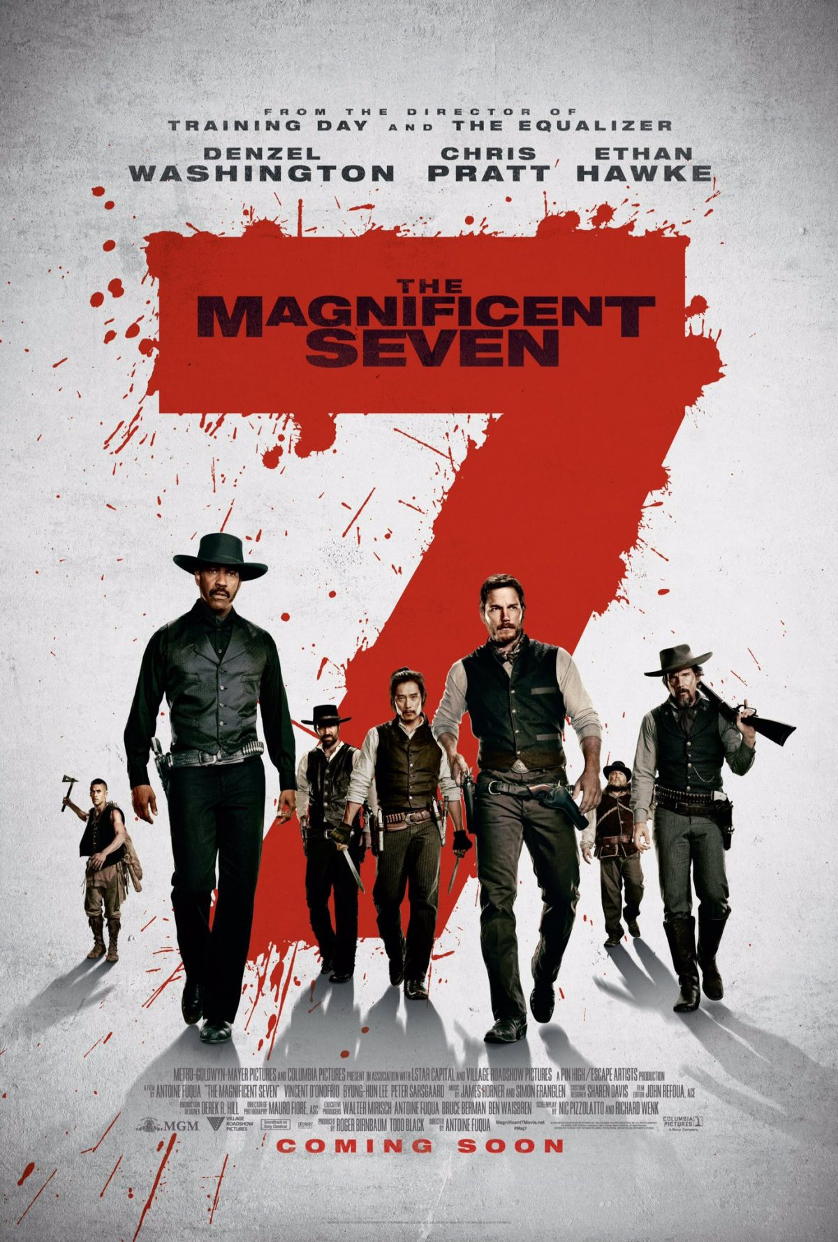 Watch Movie The Magnificent Seven 2016