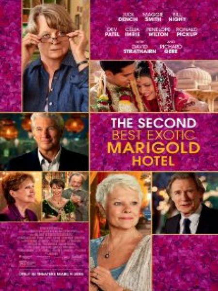 Watch Movie The Second Best Exotic Marigold Hotel