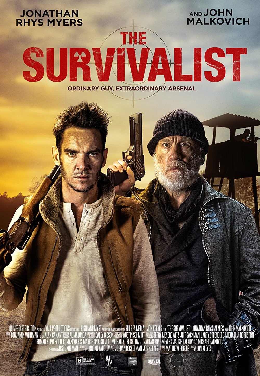 Watch Movie The Survivalist (2021)