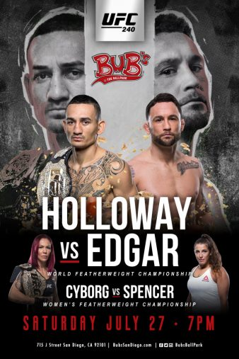 Watch Movie UFC 240 Holloway vs Edgar