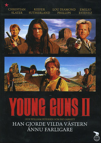 Watch Movie Young Guns 2